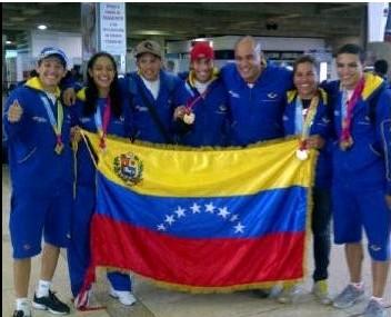 Ciclismo de Pista llego a Venezuela cargado de Oro