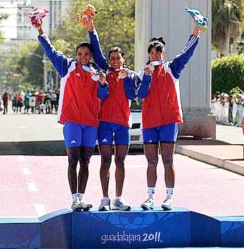 Cuba arraza en la ruta del ciclismo panamericano