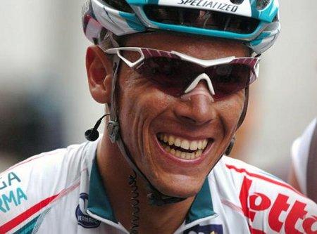 Philippe Gilbert galardonado con la Bicicleta de Oro 2011
