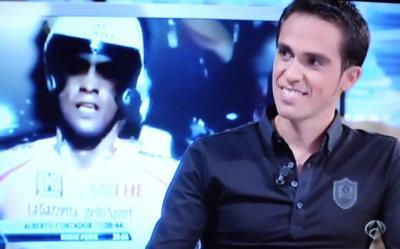 Alberto Contador corona el plató de 'El Hormiguero 3.0'