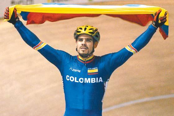 Selección Colombia de pista se prepara para la Copa Mundo Astana 2011