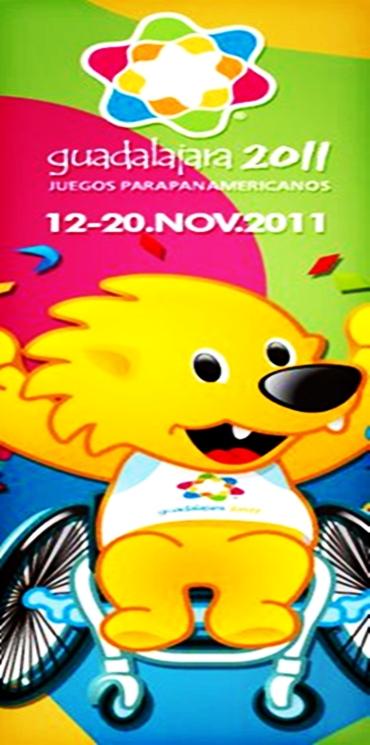 Video Presentacion de los Juegos Parapanamericanos Guadalajara 2011