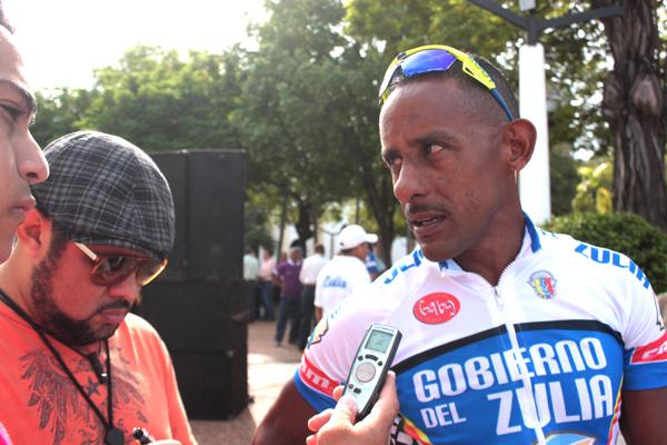Gil Cordovez  primer lider de la Vuelta al Zulia