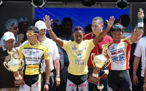Gil Cordovez Campeon de la Vuelta al Zulia por 7ma Vez