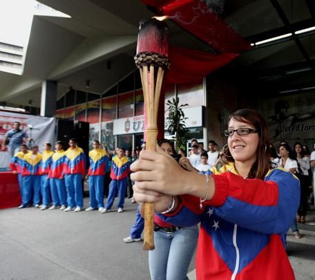 Fuego Patrio de los XVIII Juegos Nacionales arriba al Táchira este lunes 14 de noviembre