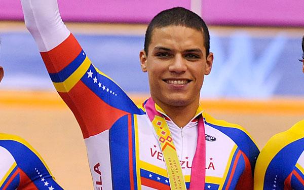 Nueve ciclistas venezolanos correrán en la Copa Mundial de pista en Cali