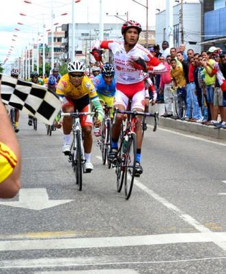 Vuelta Juvenil de Anzoategui Yerci Medina se llevó la tercera etapa y Luis Gómez sigue Lider