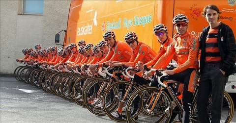 Euskaltel entra en la máxima categoría de la UCI