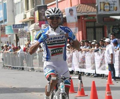 Colombiano Gregorio Ladino se adjudicó la tercera etapa de la Vuelta a Chiapas