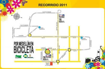 """Colombia es Pasión 4-72 participará en la décimo octava versión de """"Por Medellín en Bicicleta"""""""
