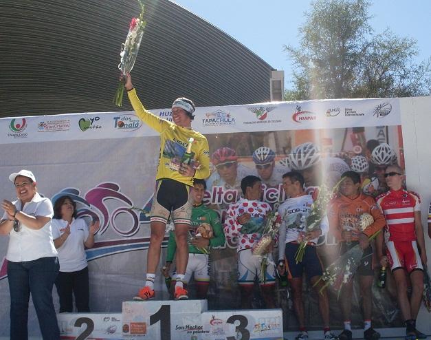 Gana Colex sexta etapa;  de Vuelta a Chiapas y colombiano Casas se corona Campeon