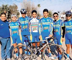 El equipo potosino Canel´s-Turbo fue invitado a participar en la Vuelta Ciclista a Chile 2012