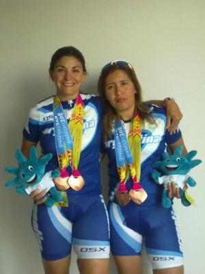 Muere arrollada Ciclista Paralimpica Argentina Lidia Britos