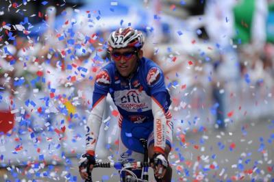 Costarricense Henry Raabe ganó 1ra etapa de la 47 Vuelta a Costa Rica