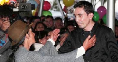 Mauricio Soler llegó esta tarde a Colombia