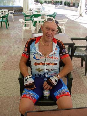 Muere atropellado Ciclista Jesús Molina Jiménez veterano del pelotón andaluz