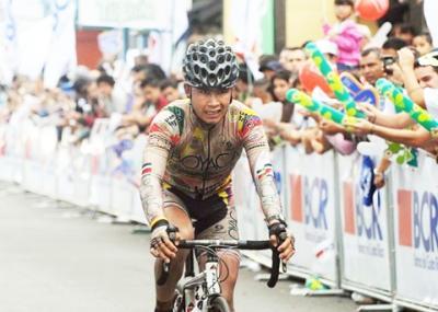 Colombiano Montaña ganó octava etapa de la Vuelta a Costa Rica