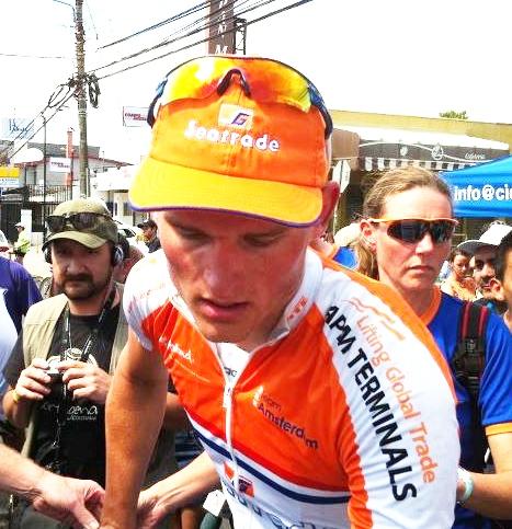 Holandés Joris de Boer gana la 9na etapa de la Vuelta a Costa Rica y Juan Carlños Rojas sigue Lider