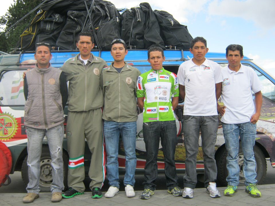 Boyaca Orgullo de America llega a Colombia con el SupCampeonato y Campeon de la Montaña de la Vuelta a Costa Rica
