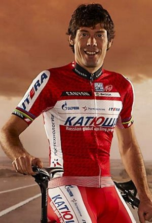 Freire luce ya el nuevo maillot de Katusha