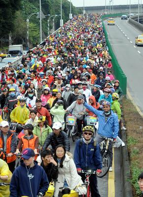 Gira ciclística por Taiwan con  72.919 ciclistas   rompe Récord Mundial Guinness
