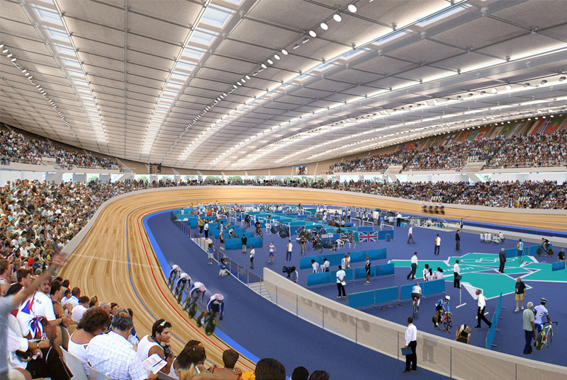 Video Velodromo Olimpico de Londres