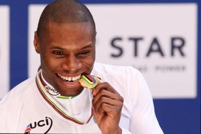 Francés Gregory Bauge despojado del título mundial de velocidad de ciclismo de pista