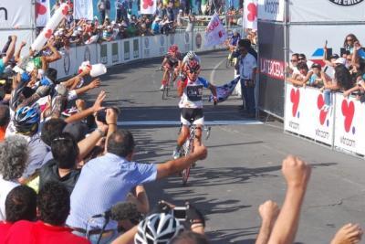 El chileno Luis Mansilla gana la 3ra Etapa de la Vuelta a Chile