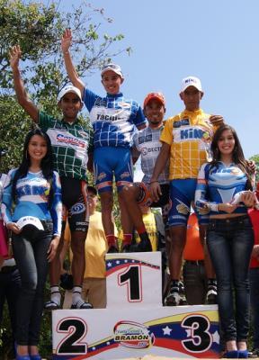 Lotero Freddy Vargas sigue mandando en Bramón   Carlos Galvìs Ganó la prueba de velocidad