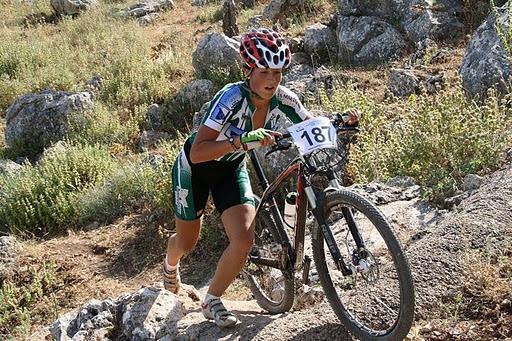 Rocío Martín, campeona Nacional de CicloCross de España
