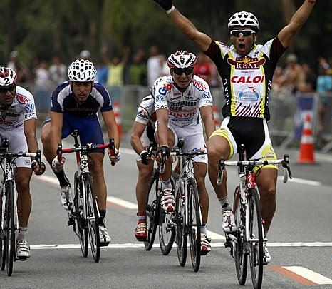 Argentino Francisco Chamorro gana la Copa América de Ciclismo