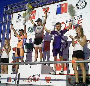 Chileno Patricio Almonacid gana la 4ta  etapa de la Vuelta Chile