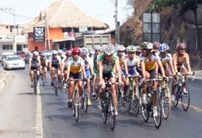 Listo recorrido de la Vuelta Ciclista femenina al Salvador