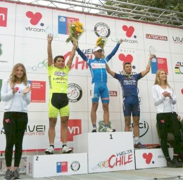 Español Adrián Palomares gana 5ta Etapa B de la Vuelta a Chile