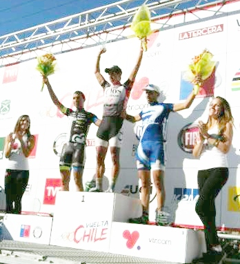 Luis Mansilla gana la 6ª etapa de la Vuelta a Chile y se consolida en el Liderato