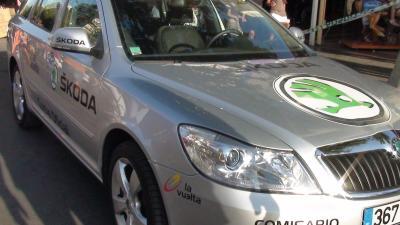 Skoda vuelve a ser el Coche Oficial de la Vuelta a España por segundo año consecutivo