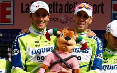 El Liquigas optará por Nibali para el Tour y por Basso para el Giro