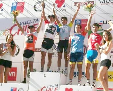 Javier Ramírez del 'Andalucía Caja Granada' gana la etapa 7 de la Vuelta Chile