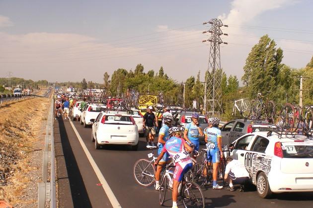 Chileno Cristopher Mansilla ganó 'protestada' octava etapa de Vuelta de Chile