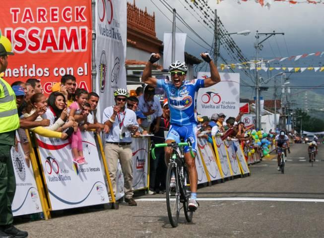 II Etapa Vuelta al Tachira 2012