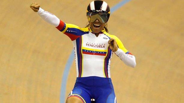 Venezolana Daniela Larreal  bronce en laIII Parada de la Copa Mundial de Ciclismo de Beijing