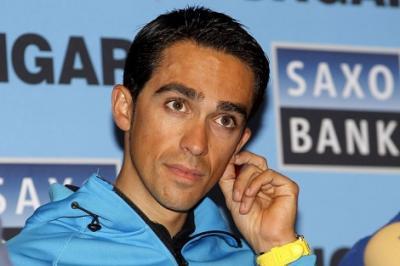 Alberto Contador llegará mañana a Argentina para correr el 6º Tour de San Luis