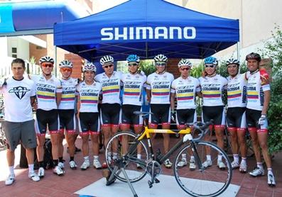 GW Shimano Colombia presente de nuevo en el Tour de San Luis