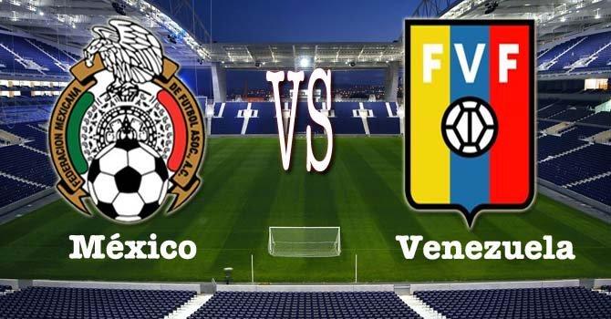 Link en Vivo para ver Online el partido Amistoso de Futbol entre Venezuela y mexico