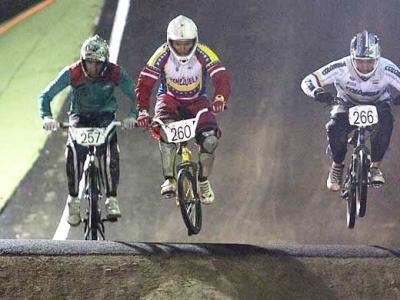 Campeonato Nacional de BMX el 19 de febrero en el Polideportivo Venalum en Guayana