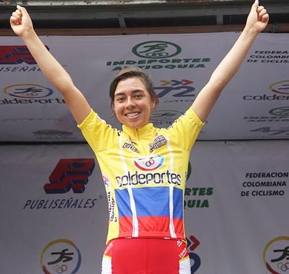Steven Calderón y Jessica Parra Campeones de la Vuelta al Futuro Clasificaciones Completas