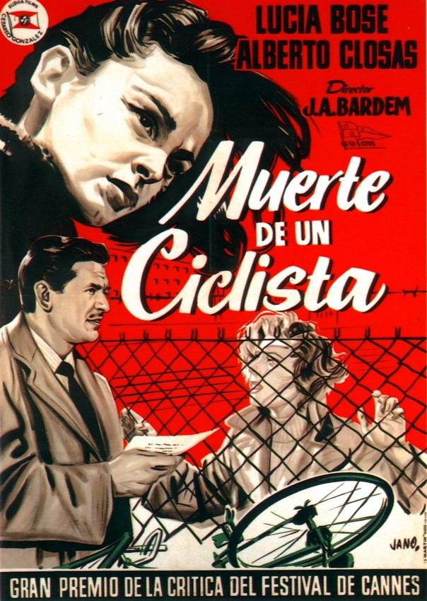 Pelicula Muerte de un ciclista 1955
