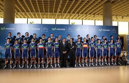 Presentado Madrid el Movistar Team