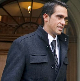Reacciones de Ciclistas a la sanción contra Alberto Contador