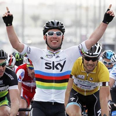 Mark Cavendish (Sky) gana la tercera etapa de la Vuelta a Catar